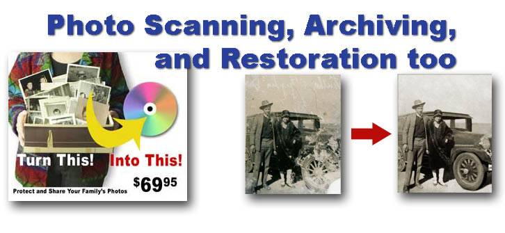 photo scanning amarillo tx